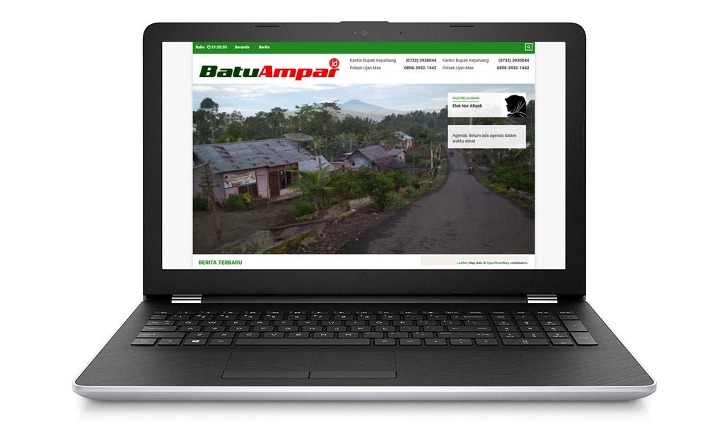 Kini, Informasi Seputar Desa Batu Ampar Bisa Diakses Via Batuampar.id