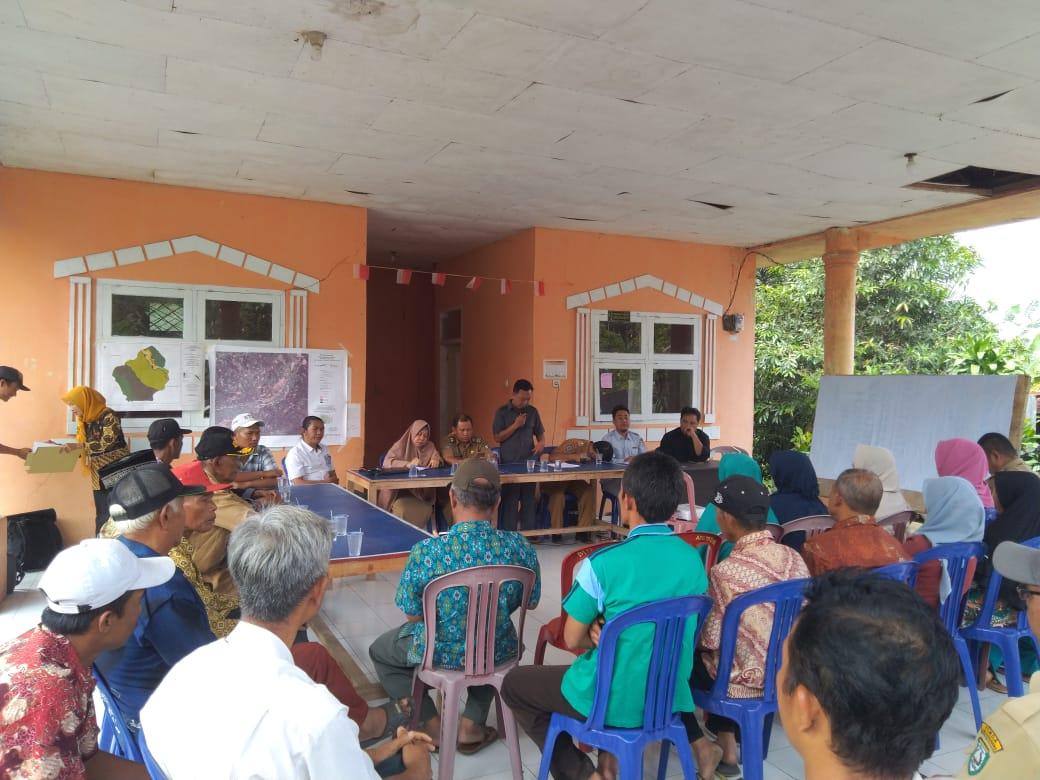 JKPP Dan Kelopak Bengkulu Dampingi Desa Batu Ampar Laksanakan Pemetaan Partisipatif