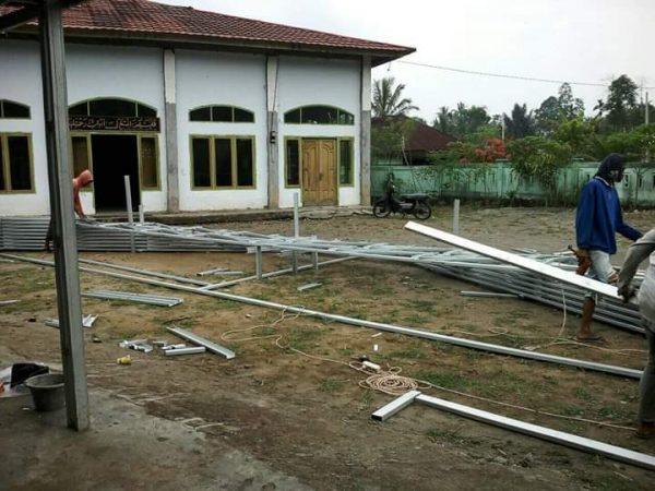 Dengan Rp. 18 juta Batu Ampar Mulai Pembangunan Masjid