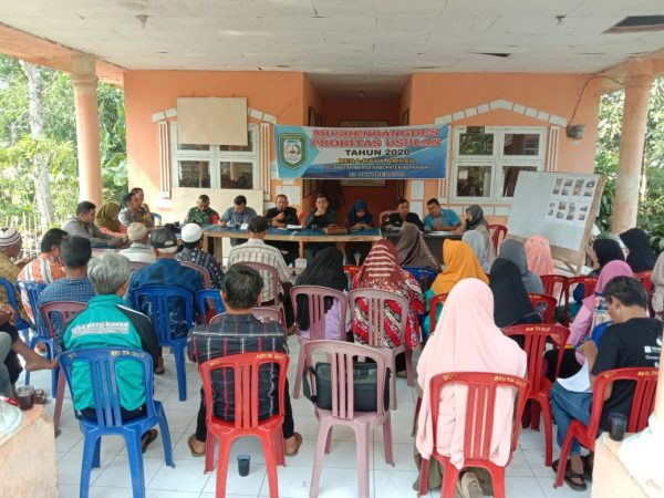 Desa Batu Ampar Gelar Musyawarah Desa Penetapan Prioritas RKPDes 2020