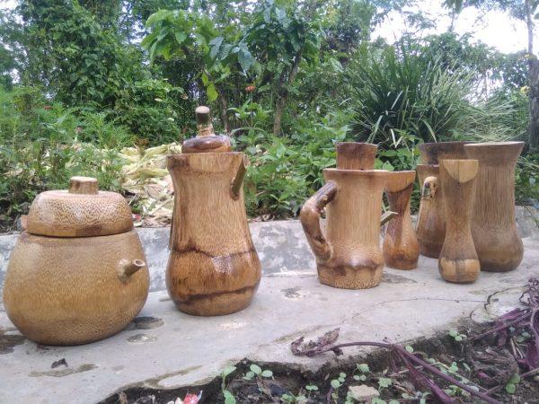 Produksi Kerajinan Bambu Desa Batu Ampar Kecamatan Merigi Kepahiang