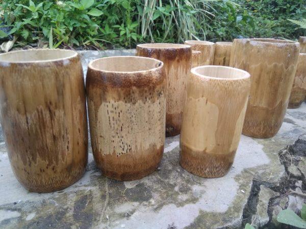 Cangkir Bambu Desa Batu Ampar Kecamatan Merigi Kabupaten Kepahiang Bengkulu