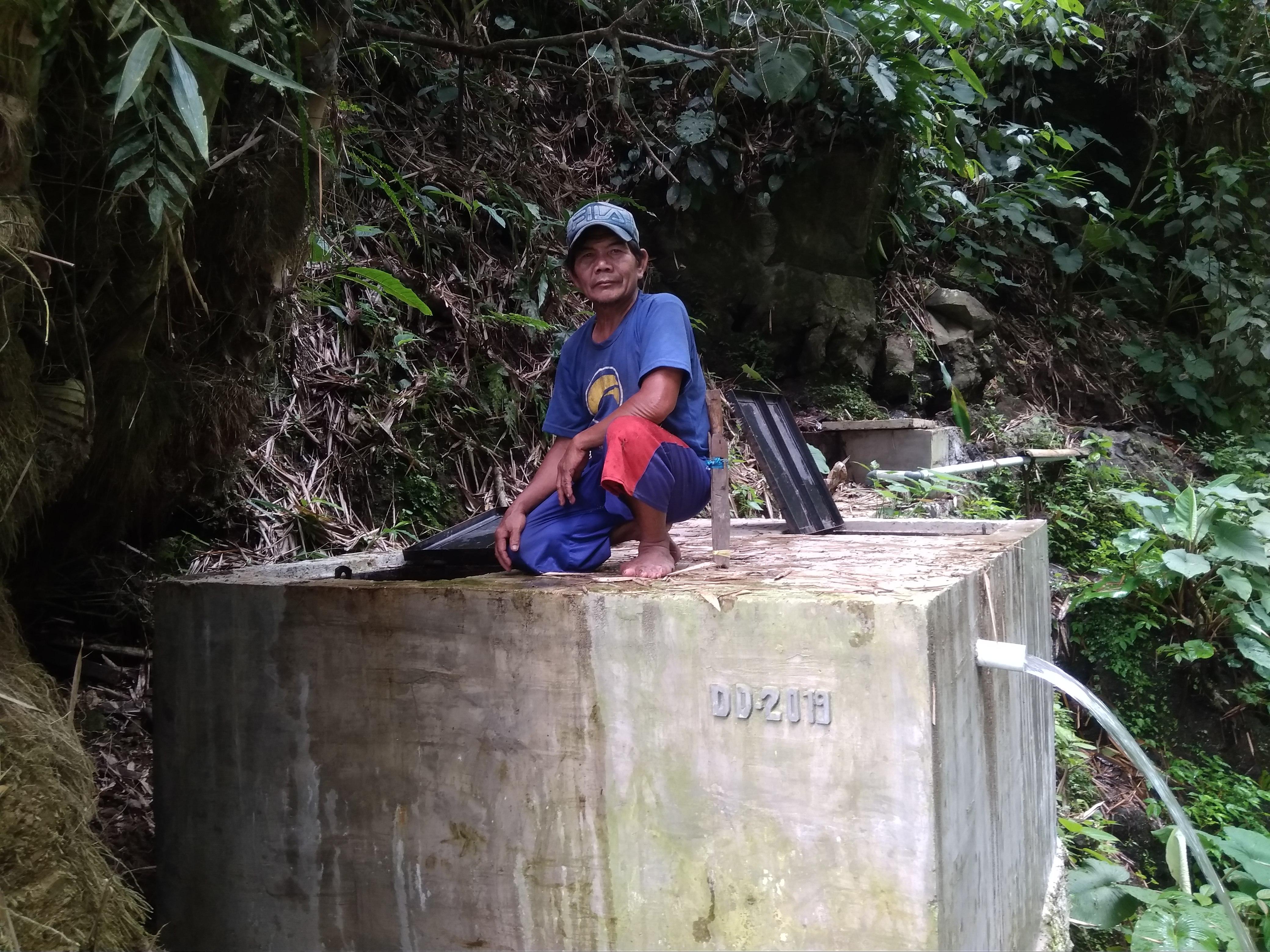 Pembangunan Sarana Air Bersih