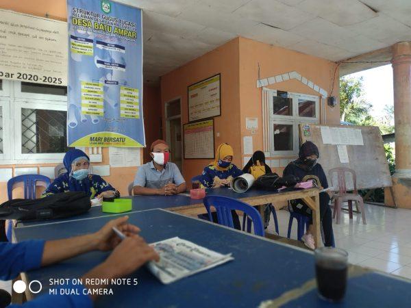 Puskesmas Durian Depun Lakukan Pembinaan Satgas Covid-19