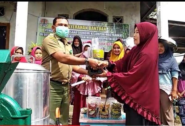 Dukung Pengembangan Usaha Masyarakat Desa BKSDA Bantu Peralatan