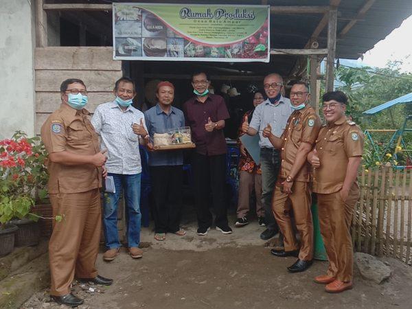 BAPPEDA Dan Dewan Riset Daerah Provinsi Bengkulu Kunjungi Desa Batu Ampar